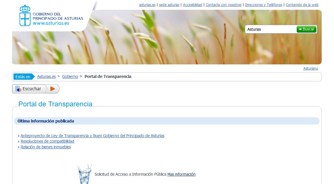 Comentarios de la Coalición ProAcceso al Anteproyecto de Ley del Principado de Asturias de Transparencia y Buen Gobierno