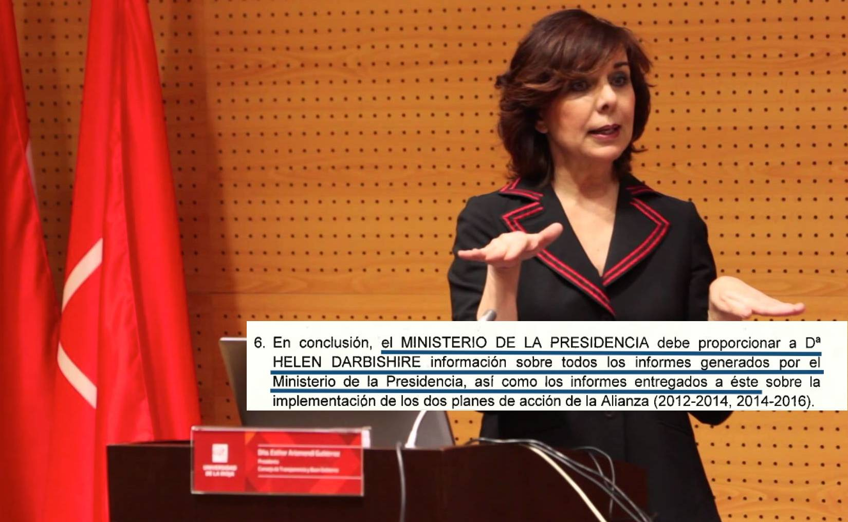 """Documents used in decision making are not """"internal"""" rules Spain's Transparency Council"""