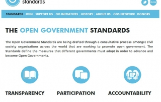 OpenGovernmentStandars