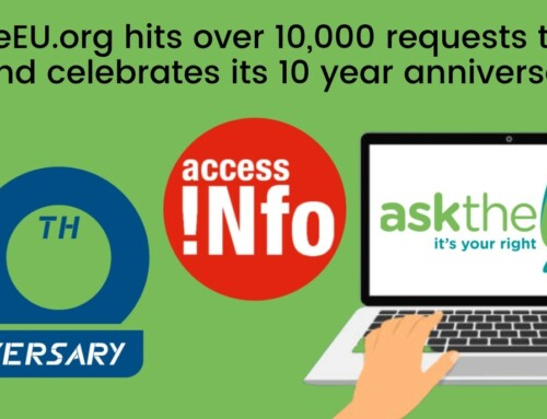 AsktheEU.org: 10th Birthday & 10,000 requests to the EU