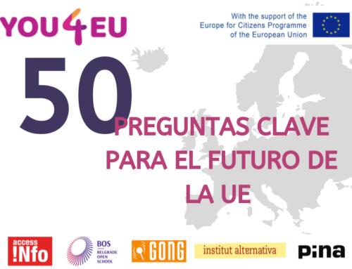 La participación ciudadana: una tarea pendiente en Europa