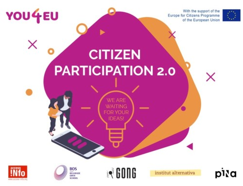 Contest: Digital solution for citizen participation