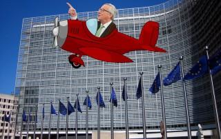 juncker travels plane